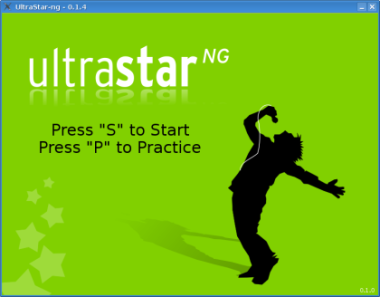 UltraStar intro screen