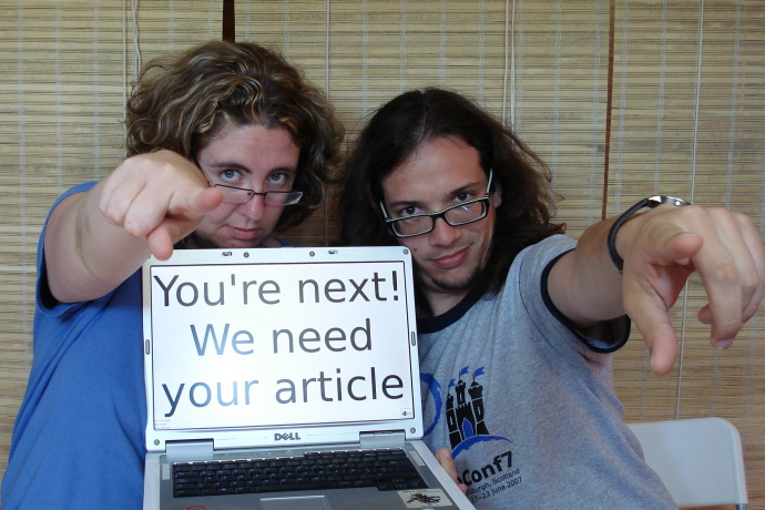 We need your article!