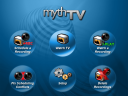 MythTV main menu