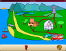 An example of the water cycle